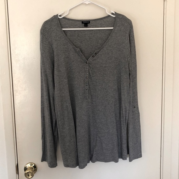 Torrid Long Sleeve Shirt
